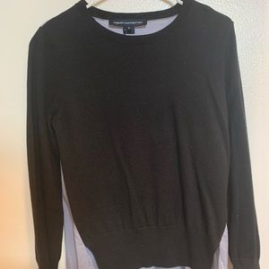 French Connection Mixed Print Sweater NWT